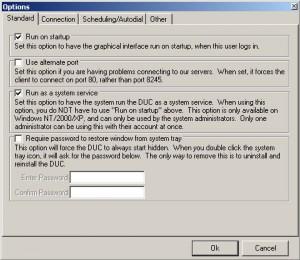 Настройка No-IP DUC (2). Закладка Standard