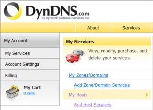Регистрация на dyndns.com (3)