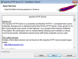 Установка Apache на Windows (3)