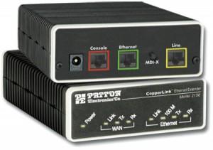 Patton CopperLink Ethernet Extender