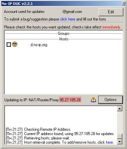 Настройка No-IP DUC (1)