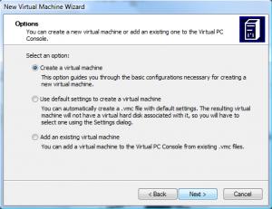 Подготовка виртуальной машины (1)