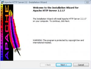 Установка Apache на Windows (1)