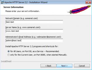 Установка Apache на Windows (4)