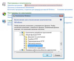 Настройка WebDAV на IIS (1)