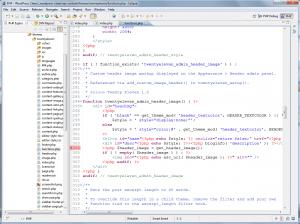 Брейкпоинт в functions.php