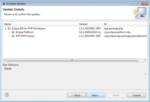 Обновление Eclipse PDT (2)