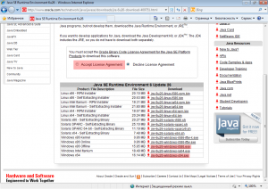 Установка виртуальной машины Java (2)